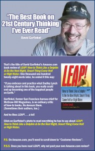 David Garfinkel LEAP! promo