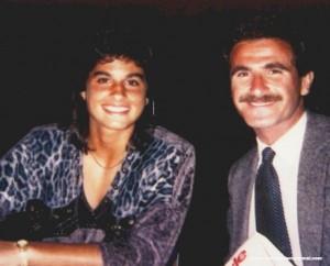 Carlos Salum and Gabriela Sabatini